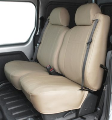 Caltrend Seat Cover Synthetic Leather Black I Cant Believe Its Not 2 Year Limited Warranty FD213 01LB
