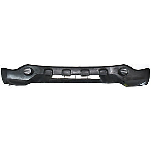 Silver Lower OUTLANDER 07-09 FRONT BUMPER COVER Textured