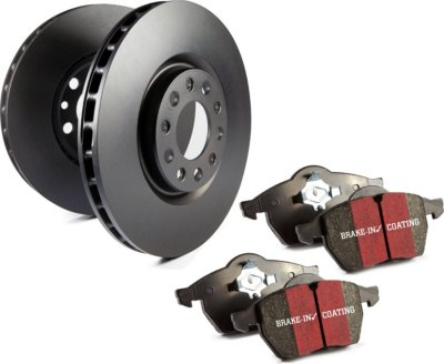 EBC Brakes GD7476 3GD Series Dimpled and Slotted Sport Rotor