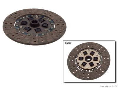Image of Aisin Clutch Disc, 2-year Limited Warranty W0133-1837735